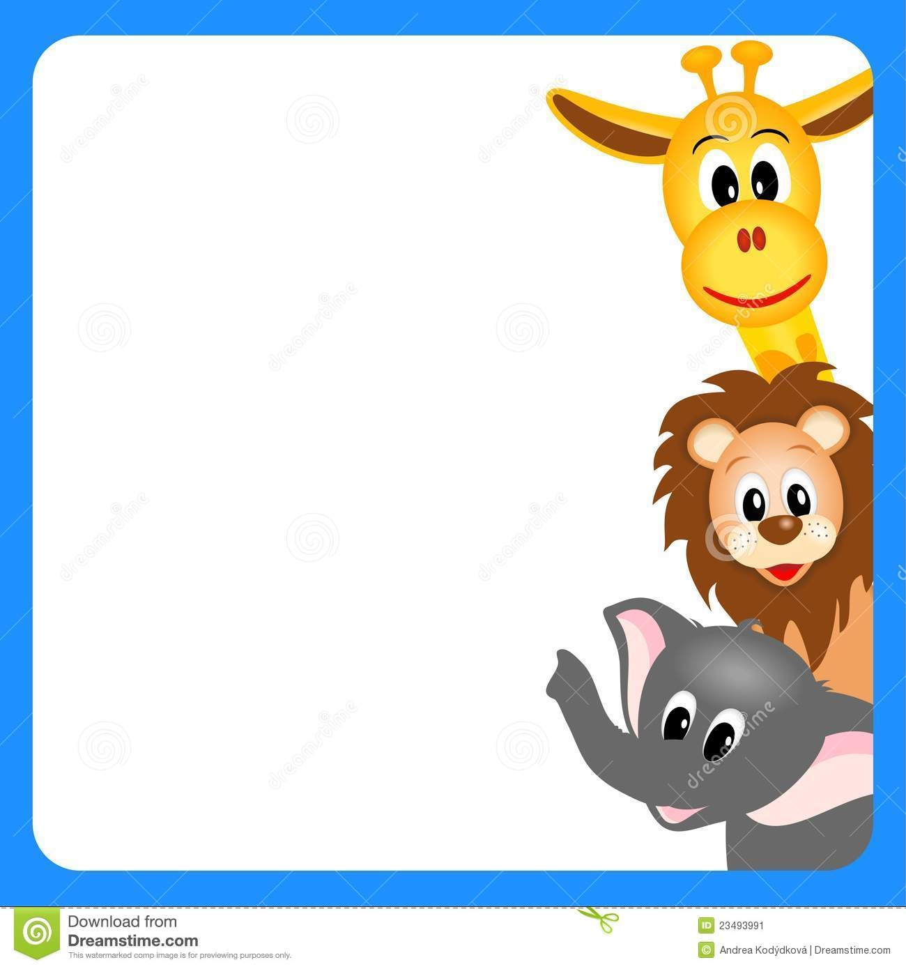 Free Baby Shower Borders Clipart