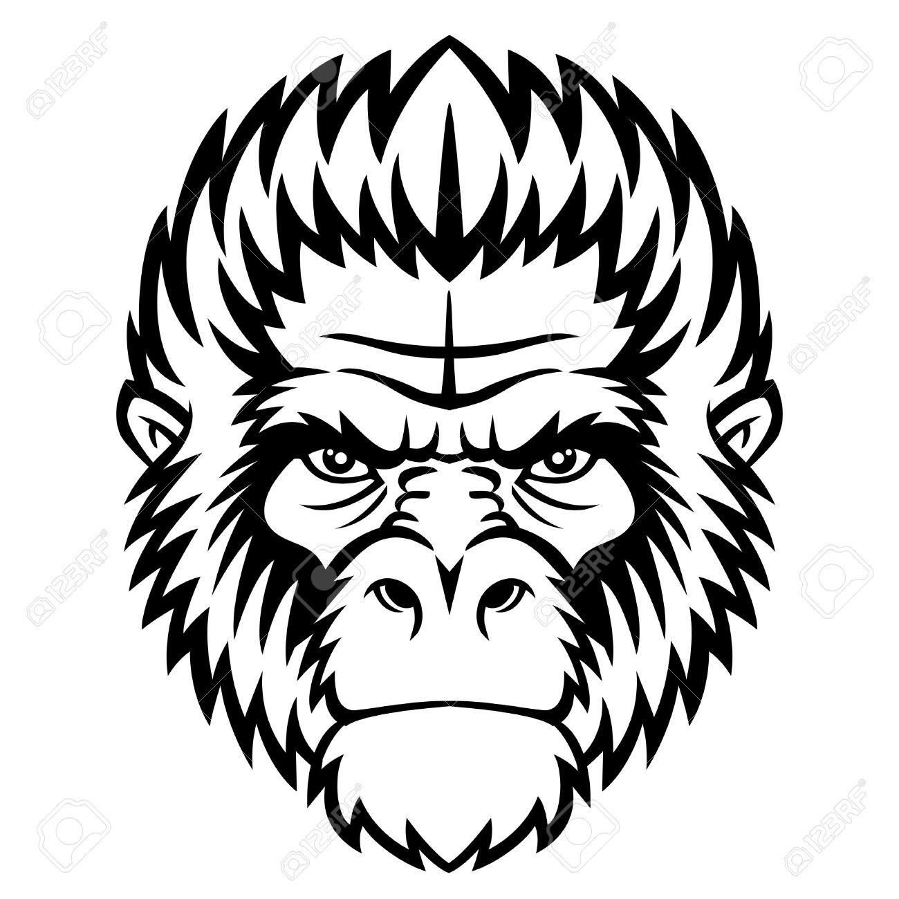Free Gorilla Clipart