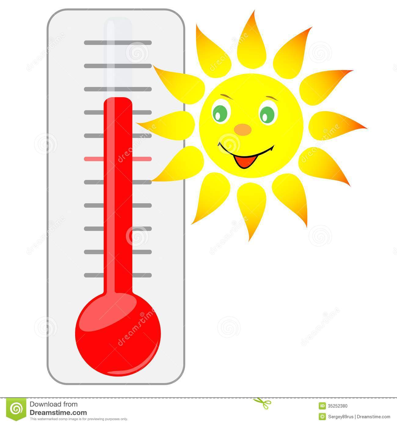 Fundraising Thermometer Clipart