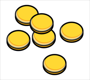 Gold Coins Clipart   Free download on ClipArtMag (300 x 267 Pixel)