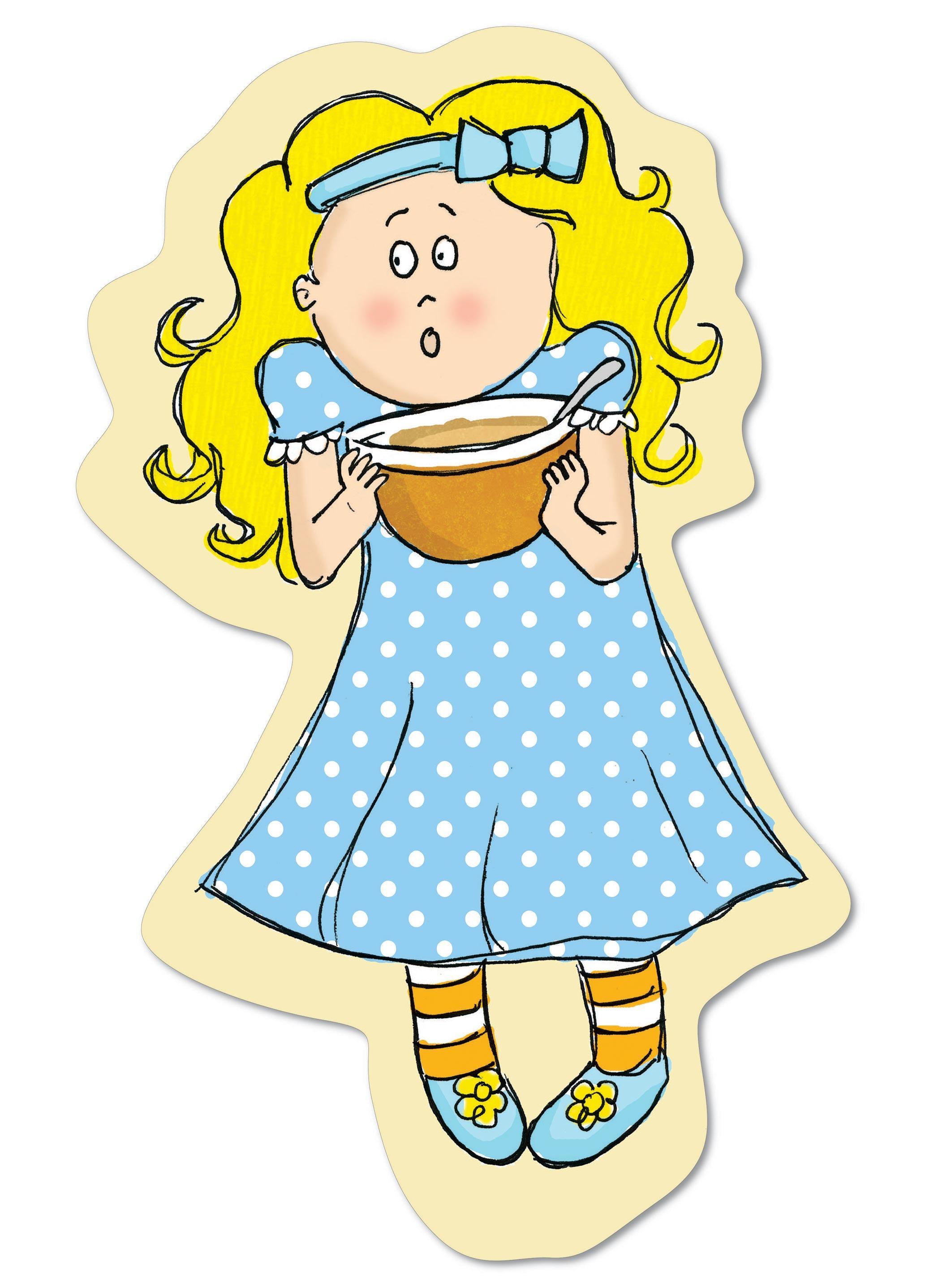 Goldilocks Clipart