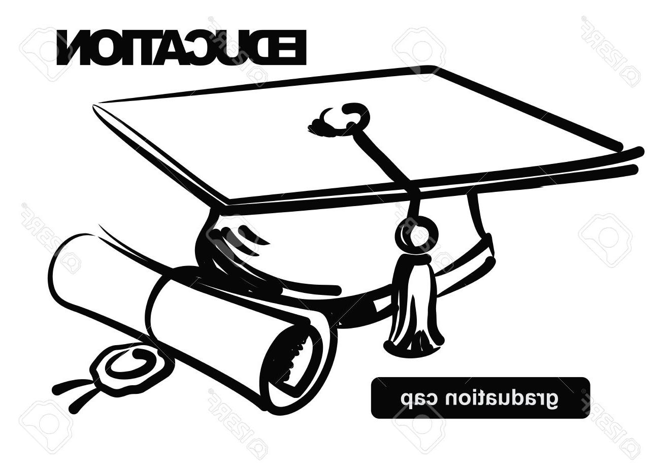 Graduation Cap And Gown Clipart