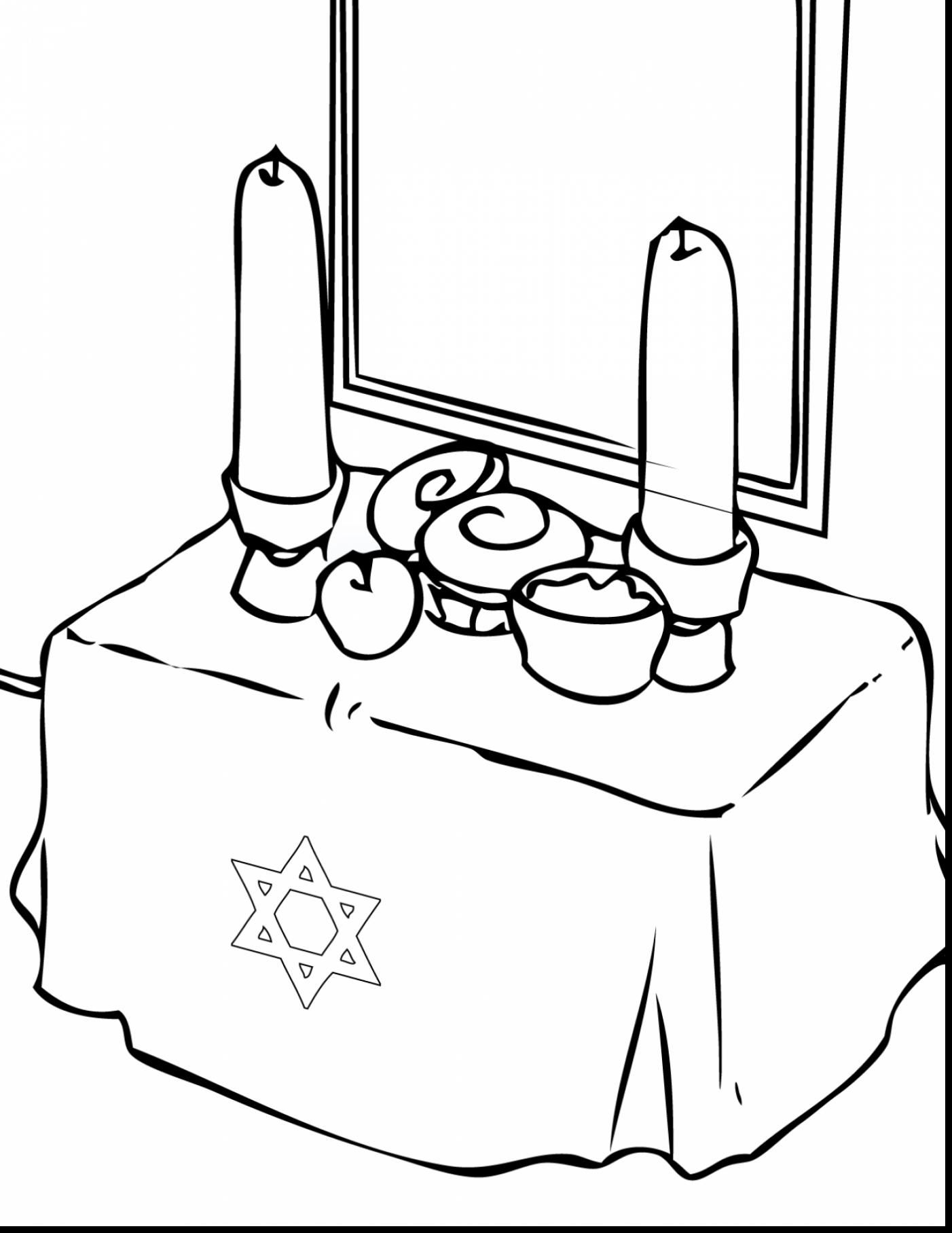 Hanukkah Coloring Pages