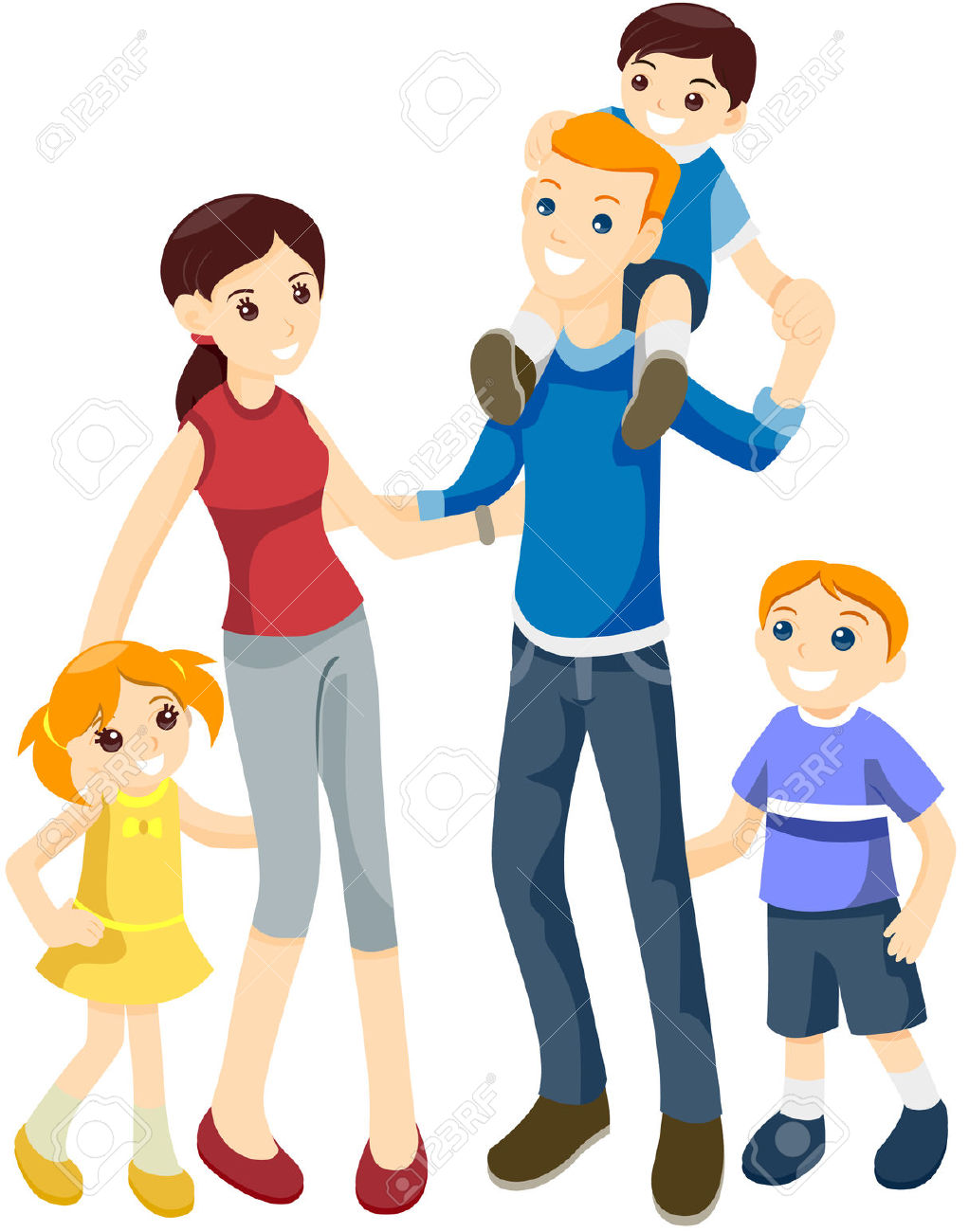 Happy Family Clipart   Free download on ClipArtMag (1022 x 1300 Pixel)