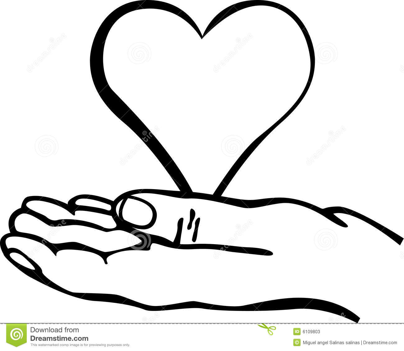 Holding Hands Clipart Black And White