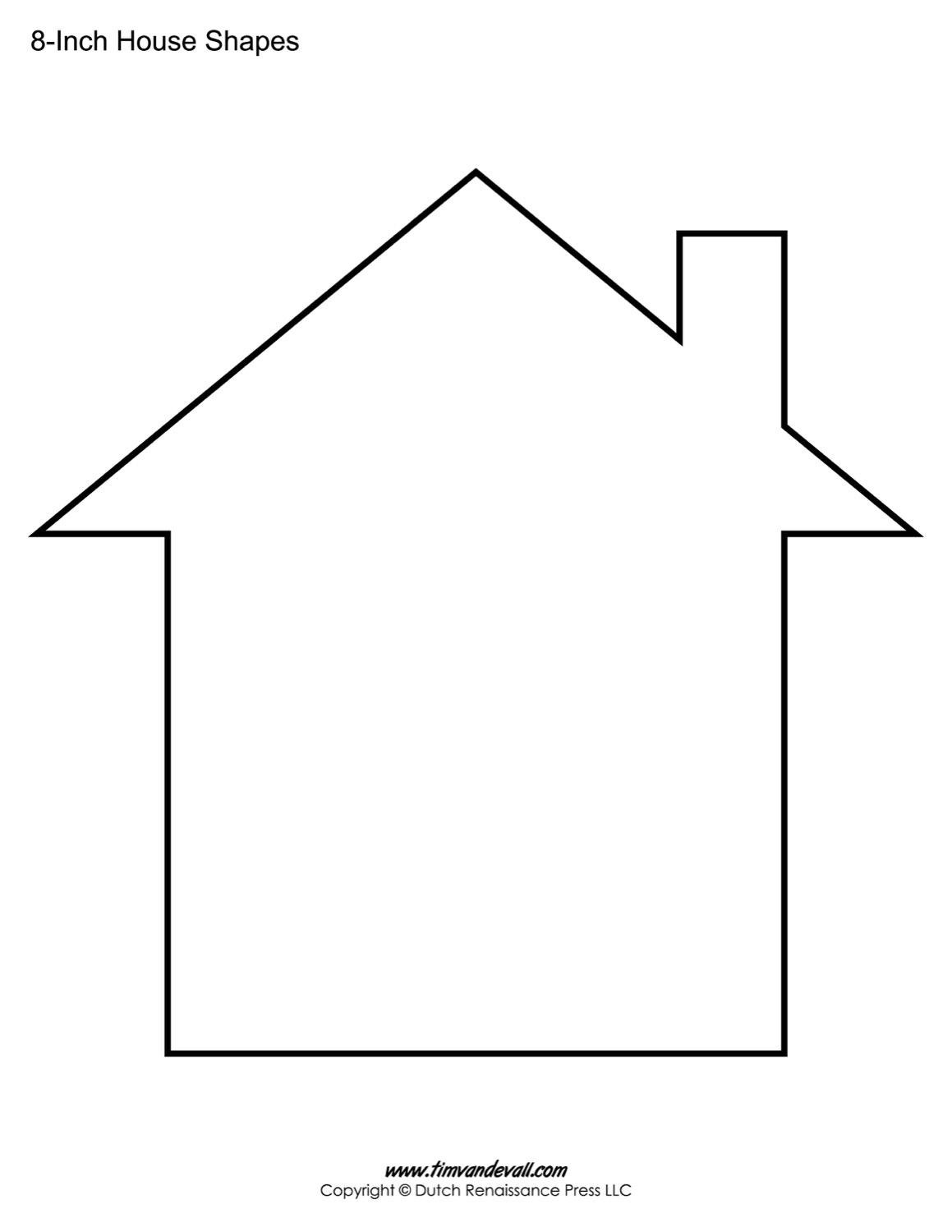 House Outline Template