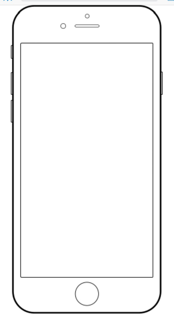 iphone coloring page # 1