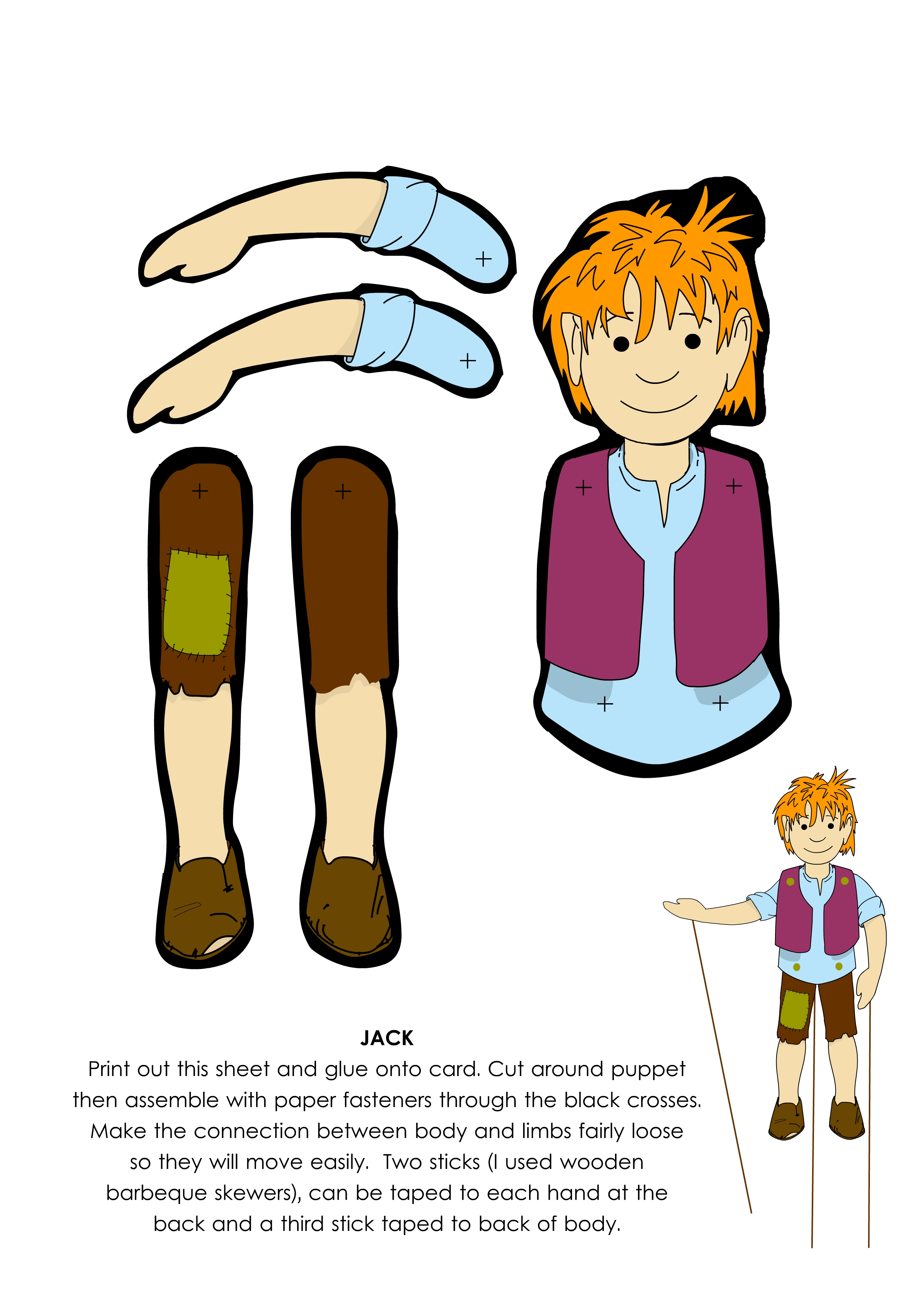 Jack And The Beanstalk Clipart
