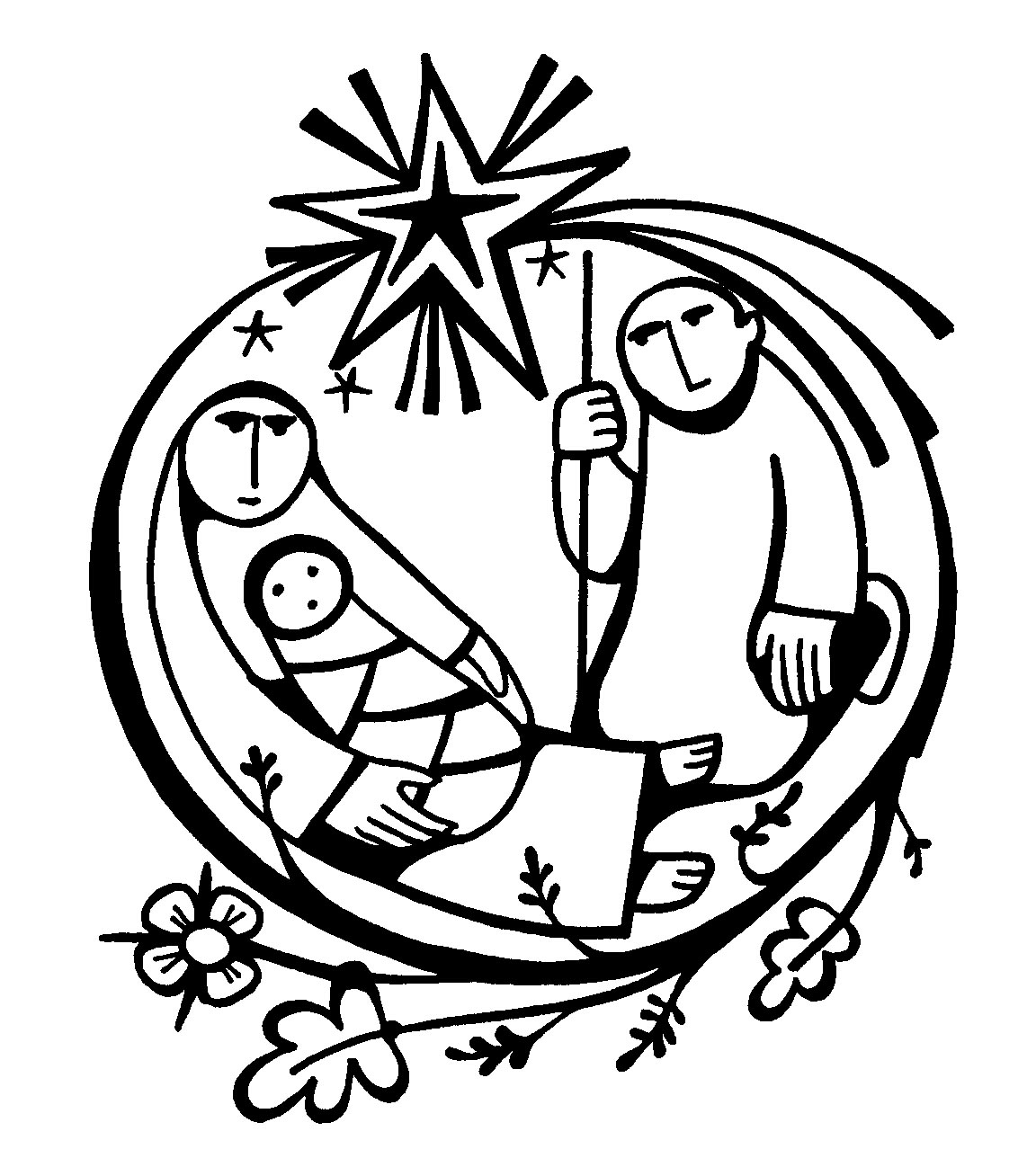 Jesus Clipart Black And White