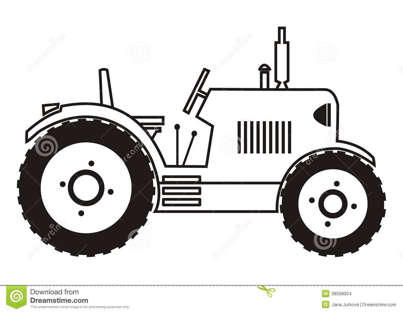 John Deere Tractor Clipart