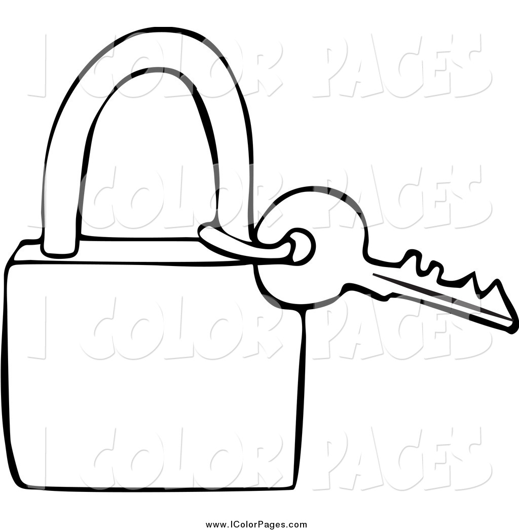 Key Clipart Black And White