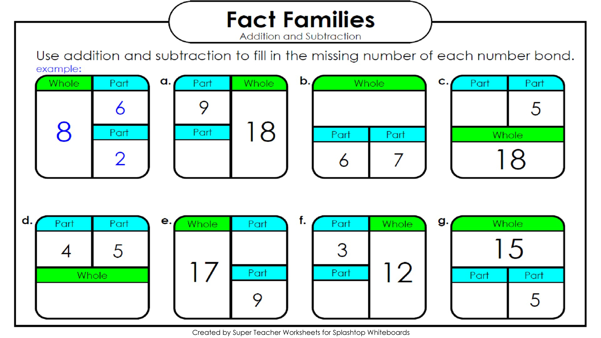 Kindergarten Math Addition