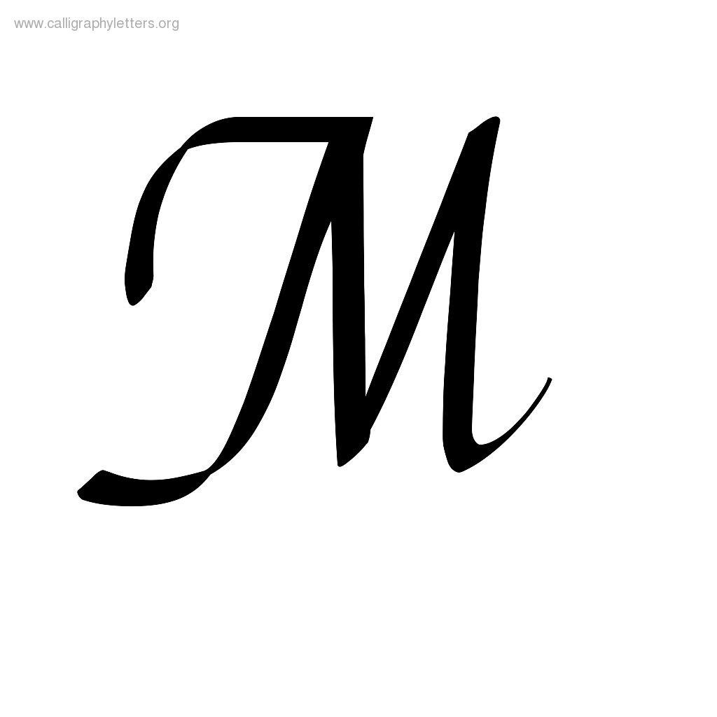 Letter A In Cursive