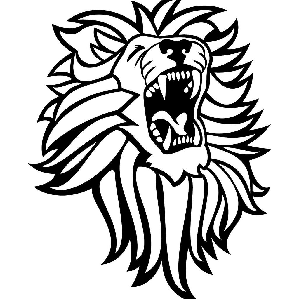 Lion Clipart Black And White
