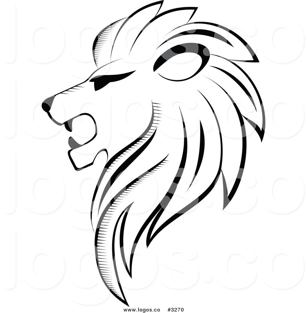 Lion Face Cartoon Clipart