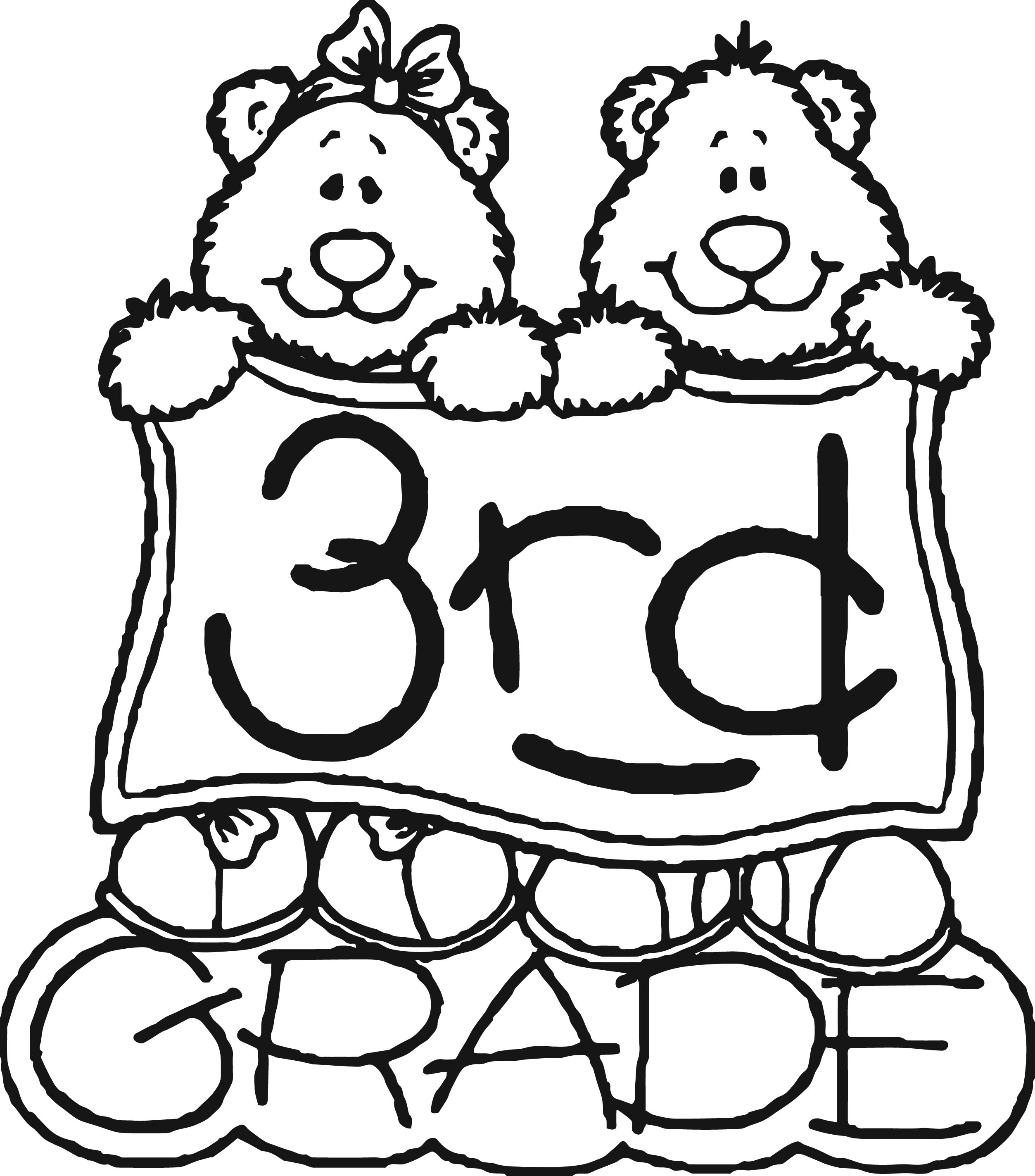 Math Coloring Pages 4th Grade
