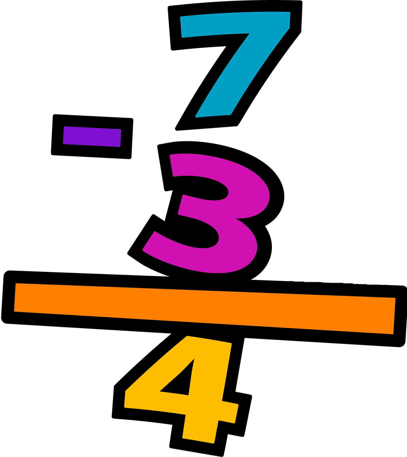 Math Problems Clipart