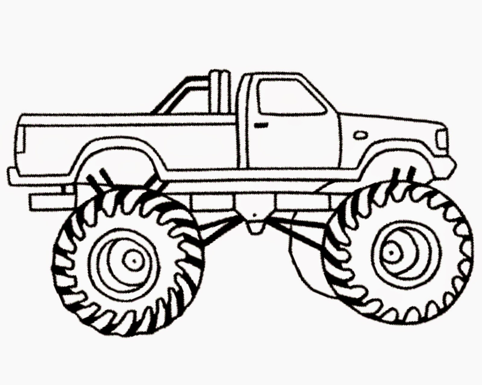 Monster Truck Clipart Free