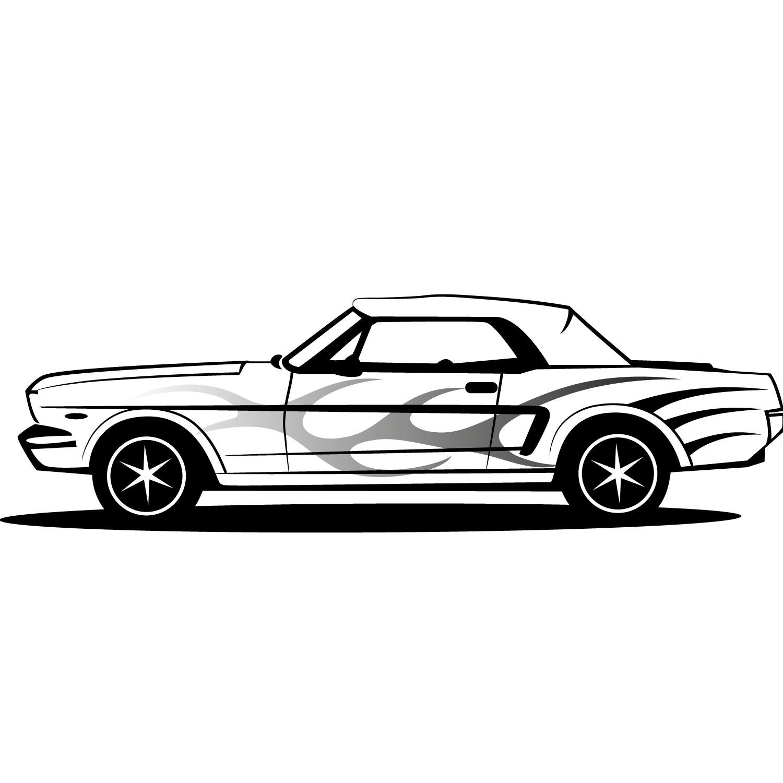 Mustang Car Clipart