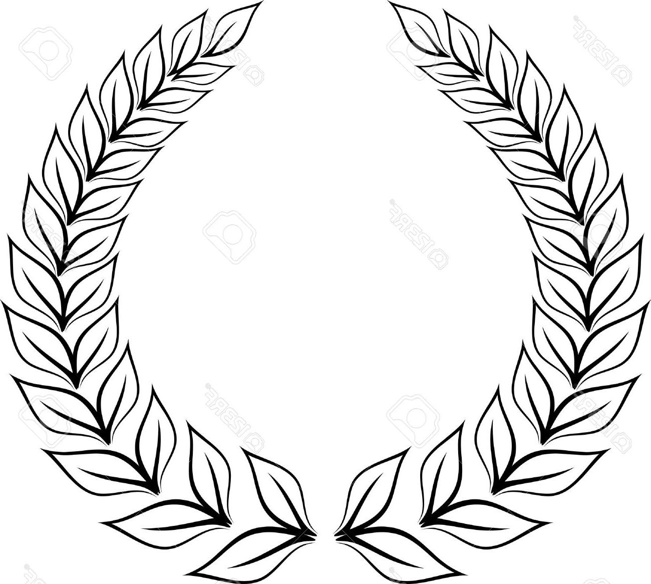 Olive Wreath Clipart