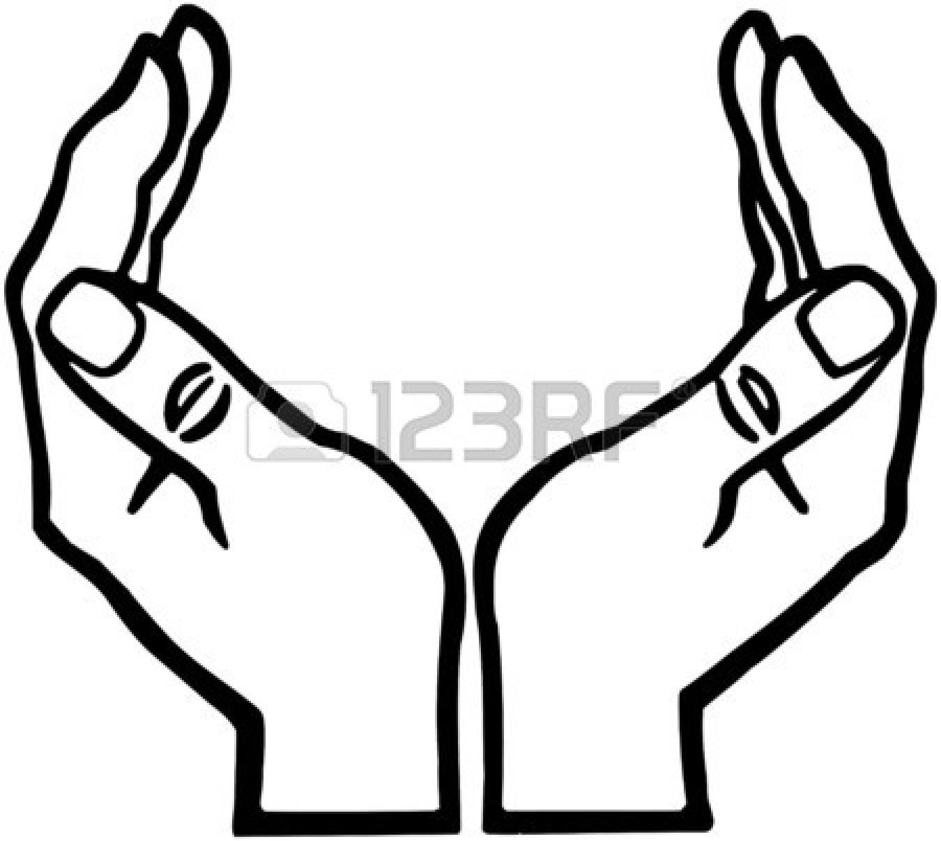 Open Hands Clipart