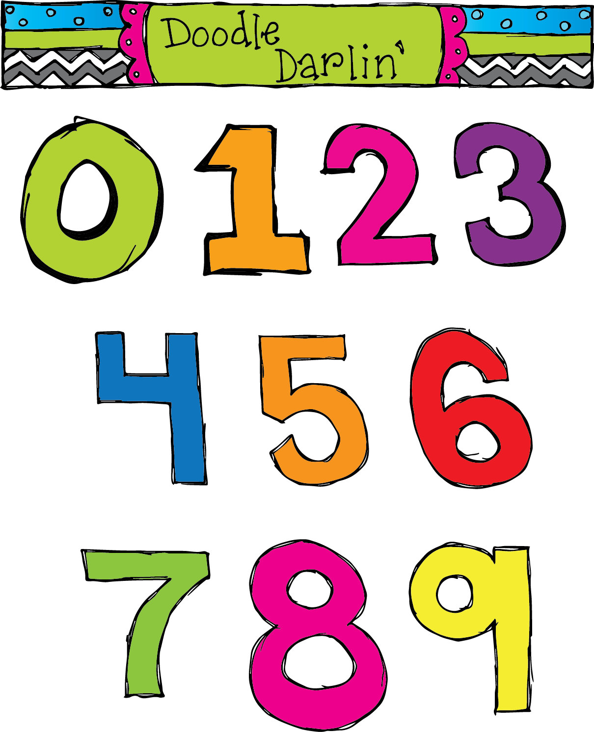 Ordinal Numbers Clipart