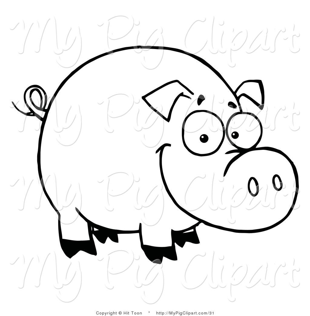Outline Of A Pig
