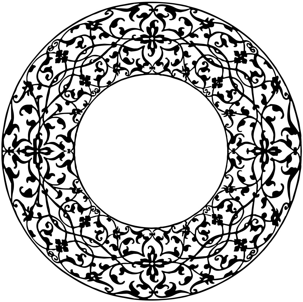 Oval Picture Frame Clipart