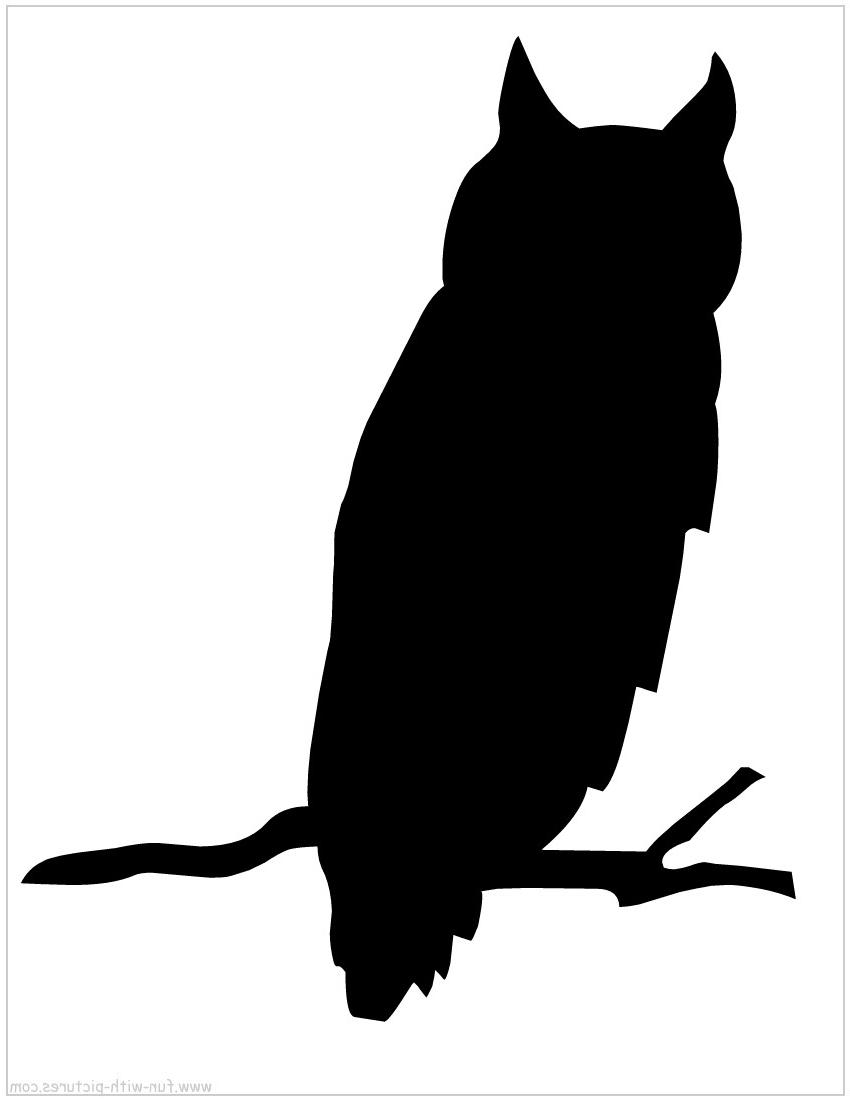 Owl Silhouette Clipart