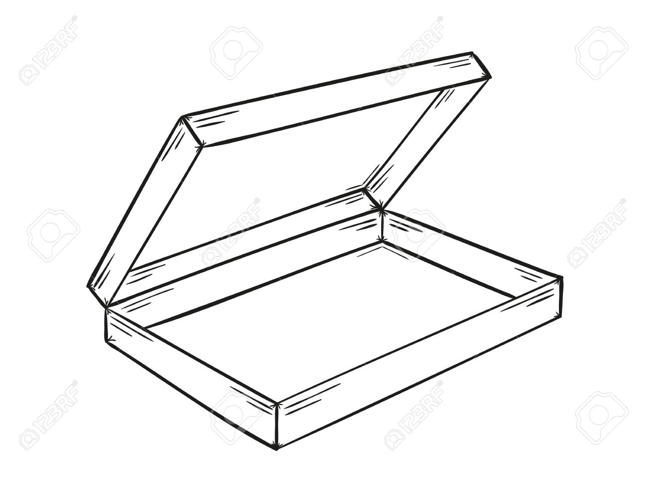 Pencil Box Clipart