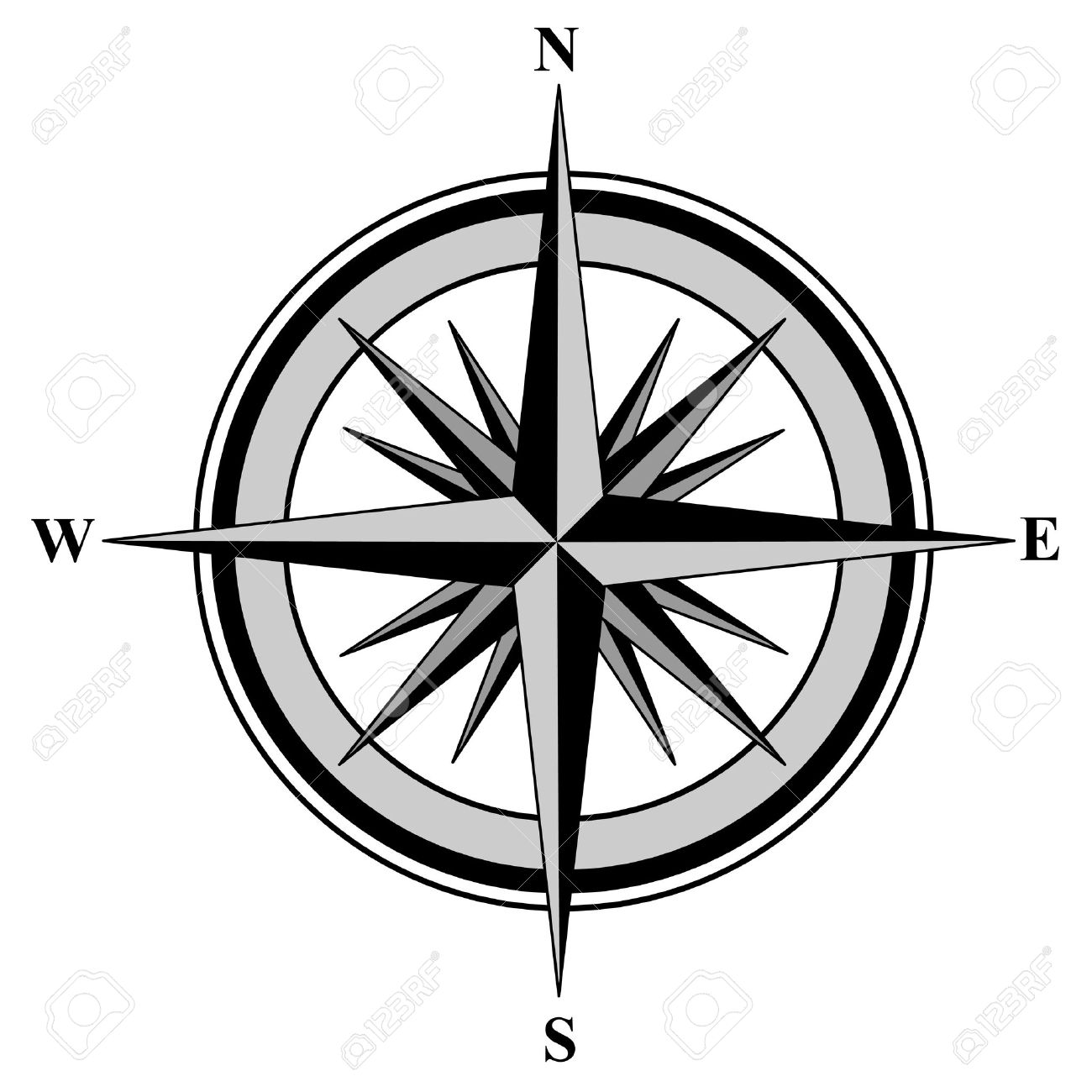 Picture Of Compass Rose