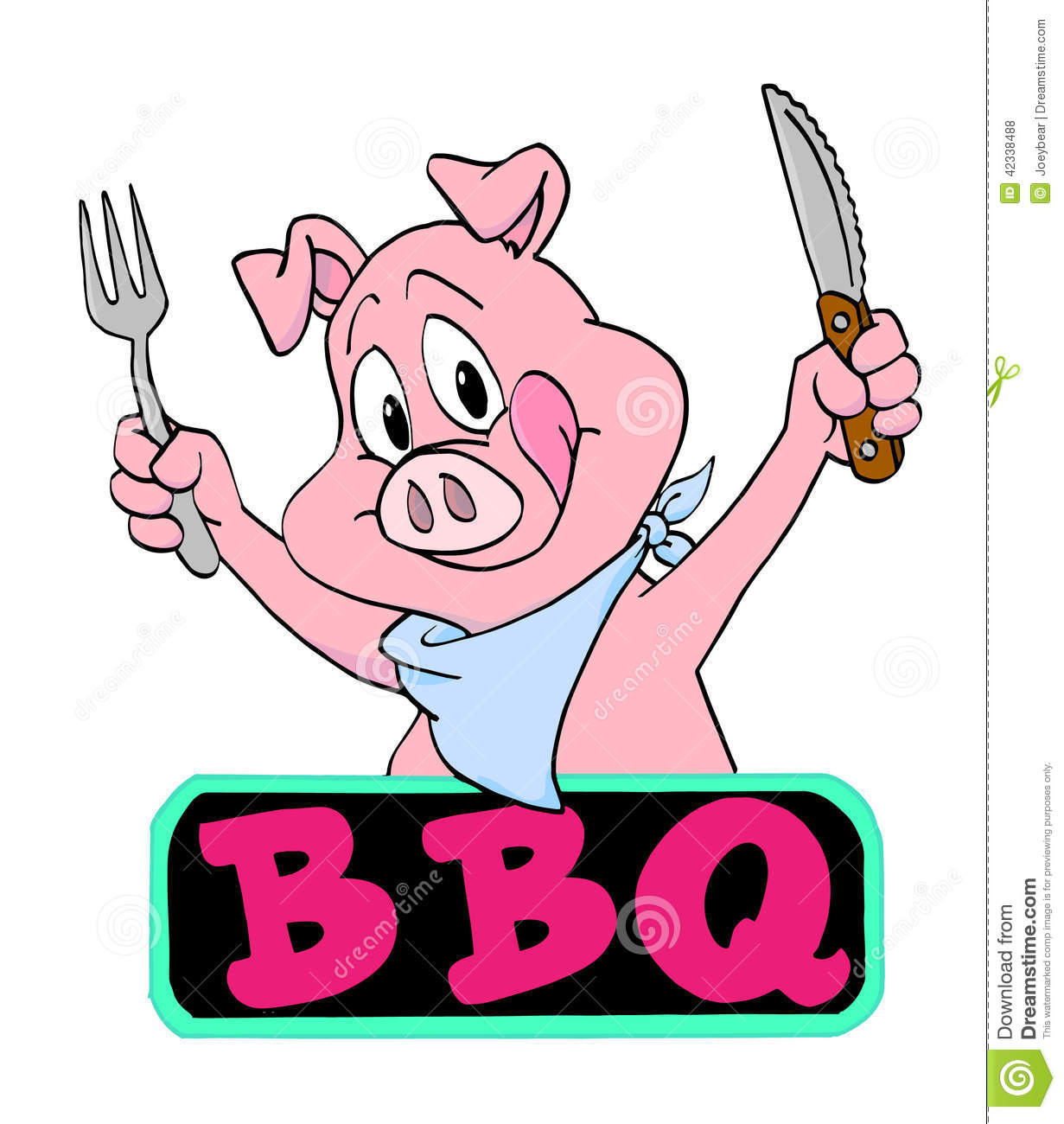 Bbq Pig Clipart