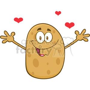 Hot Potato Clipart