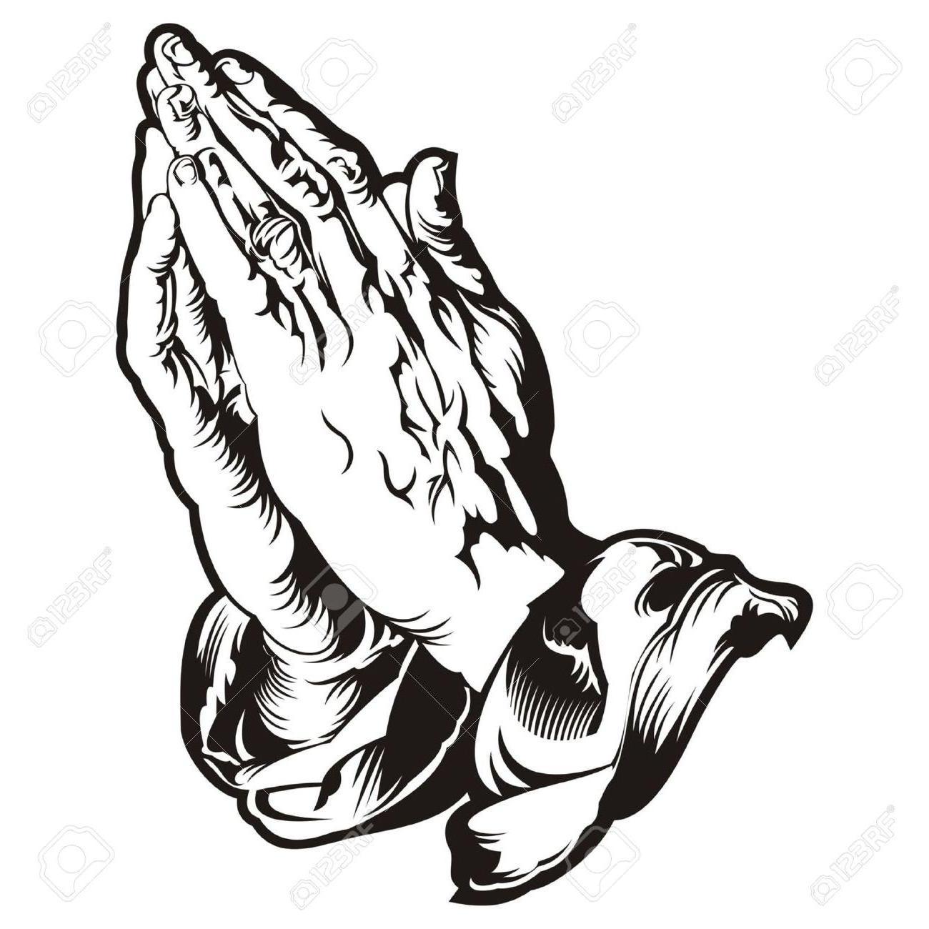 Praying Hands Clipart Bible