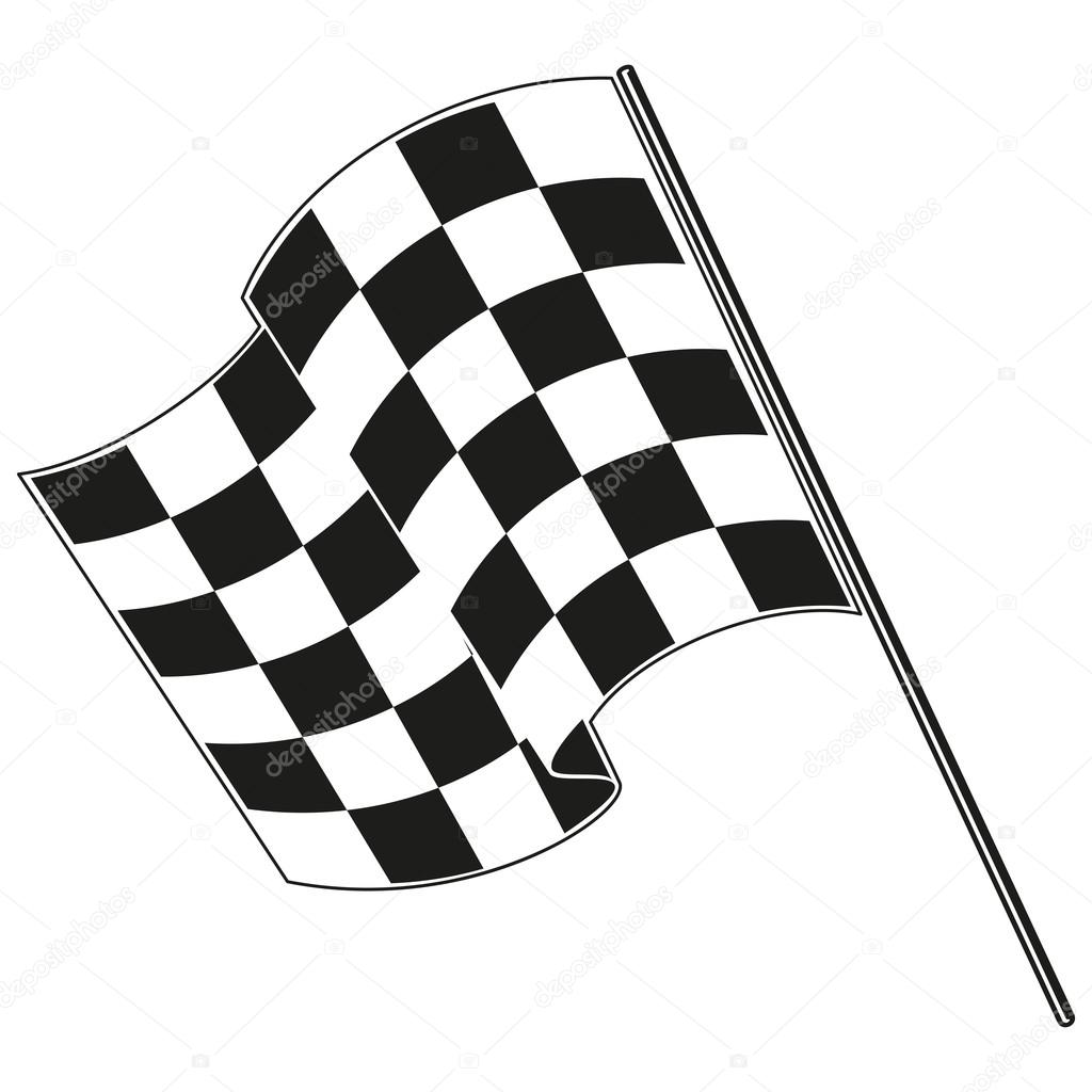 Racing Flags Clipart