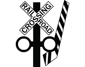 Railroad Crossing Sign Clipart | Free download on ClipArtMag (340 x 270 Pixel)