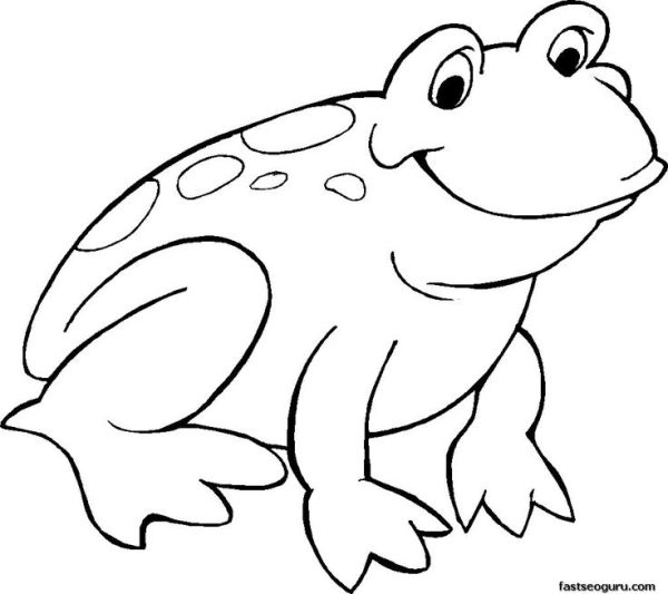 frogs coloring pages # 20