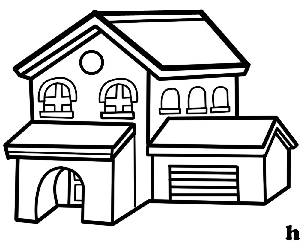 School Building Clipart Black And White Free Download Best School