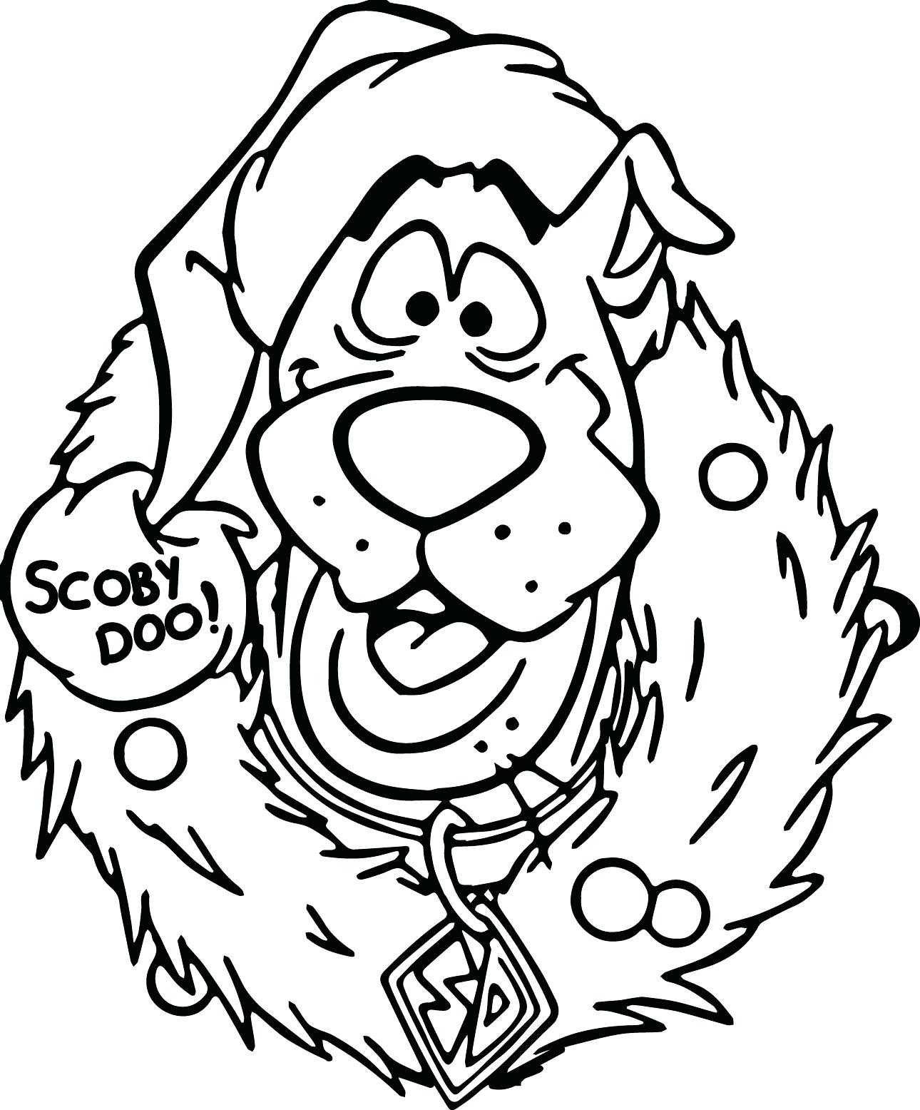 Scooby Doo Outline