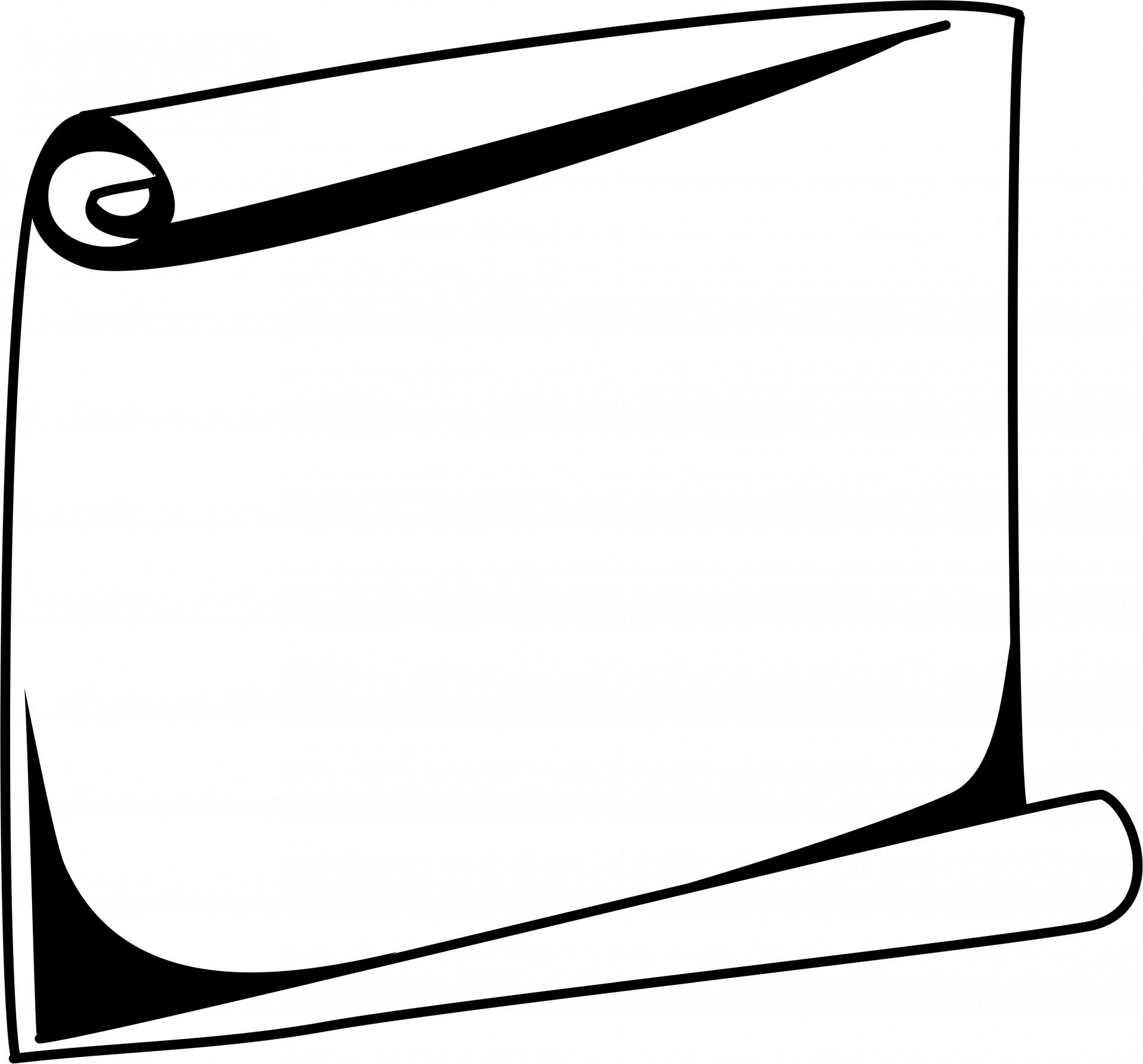Scroll Frame Clipart