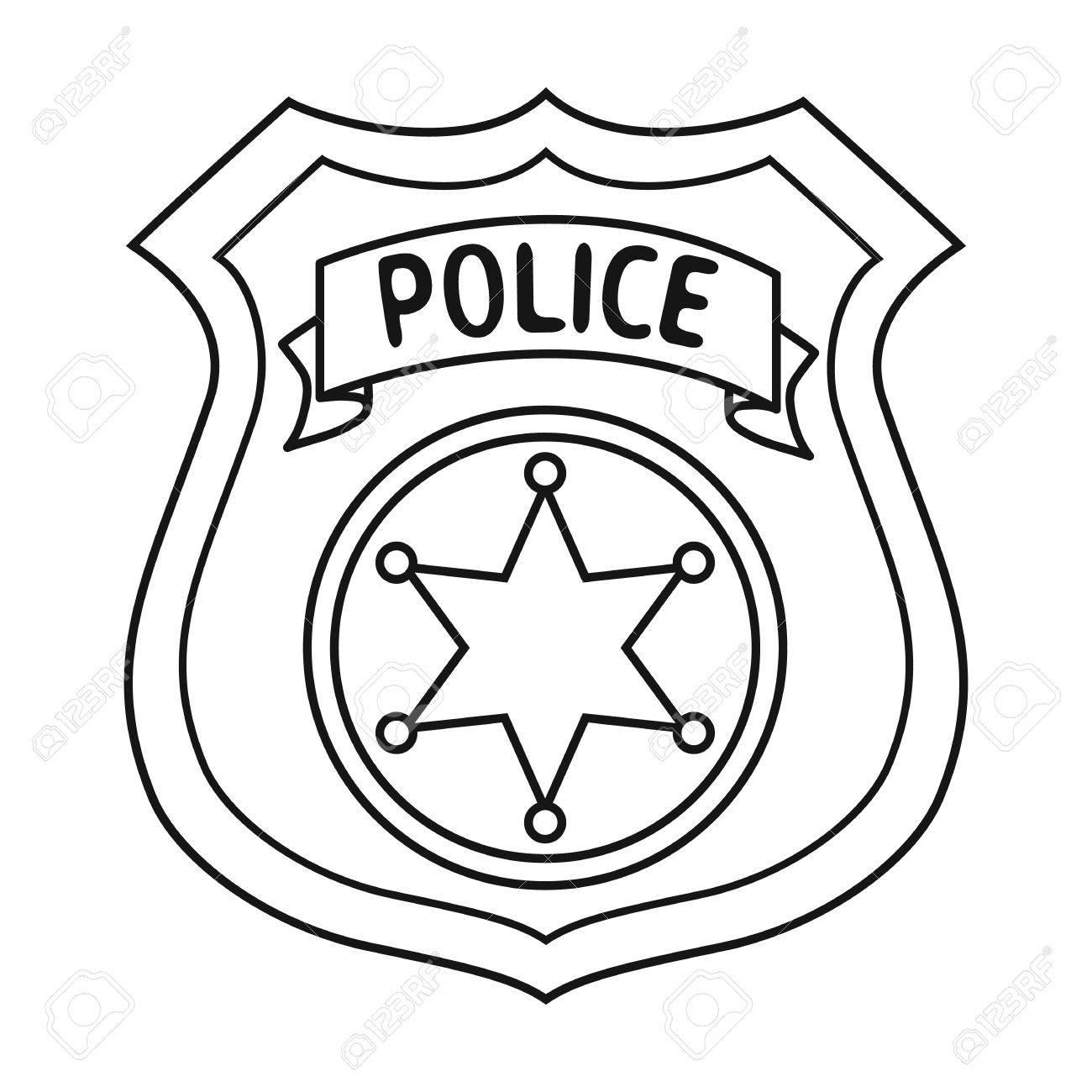 Sheriff Badge Clipart