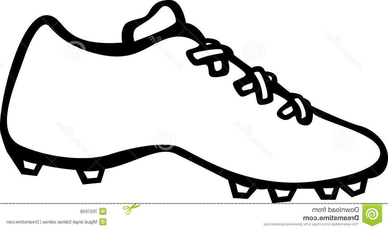 Soccer Cleat Clipart