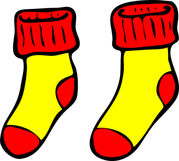 Sock Clipart | Free download on ClipArtMag (600 x 539 Pixel)