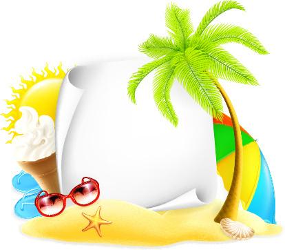 Summer Clipart Background