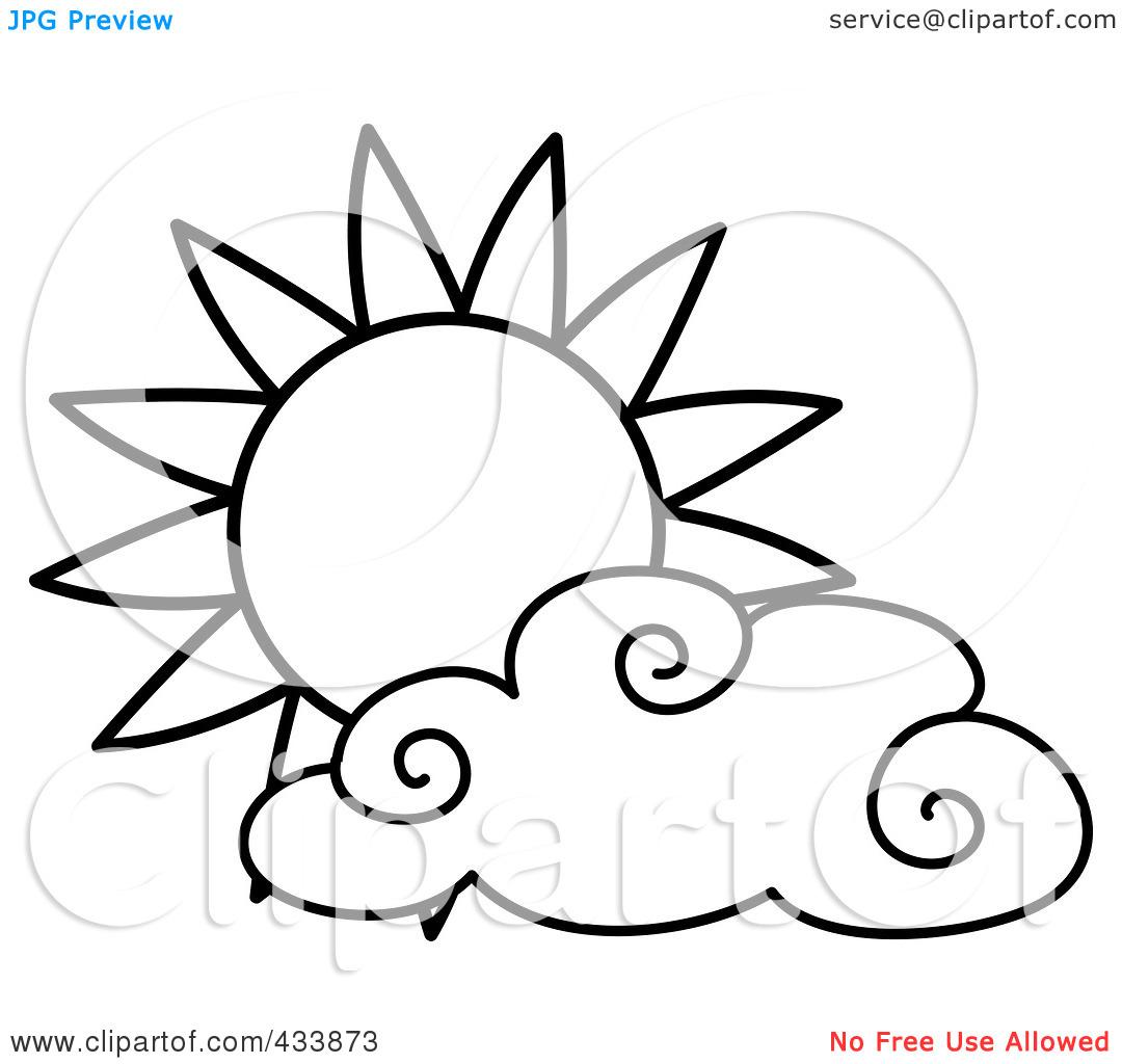 Sun Clipart Black And White