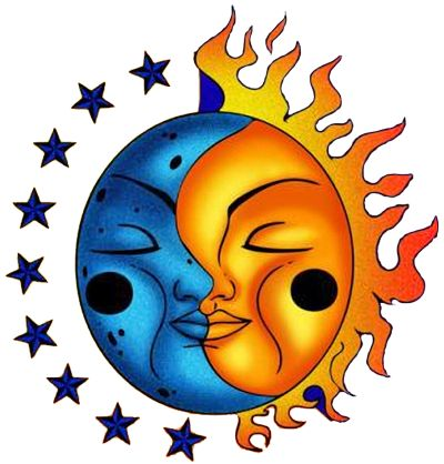 Sun Moon Earth Clipart   Free download on ClipArtMag (400 x 418 Pixel)