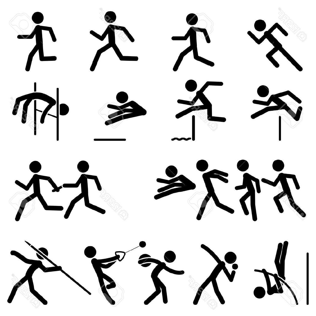 Track And Field Symbols
