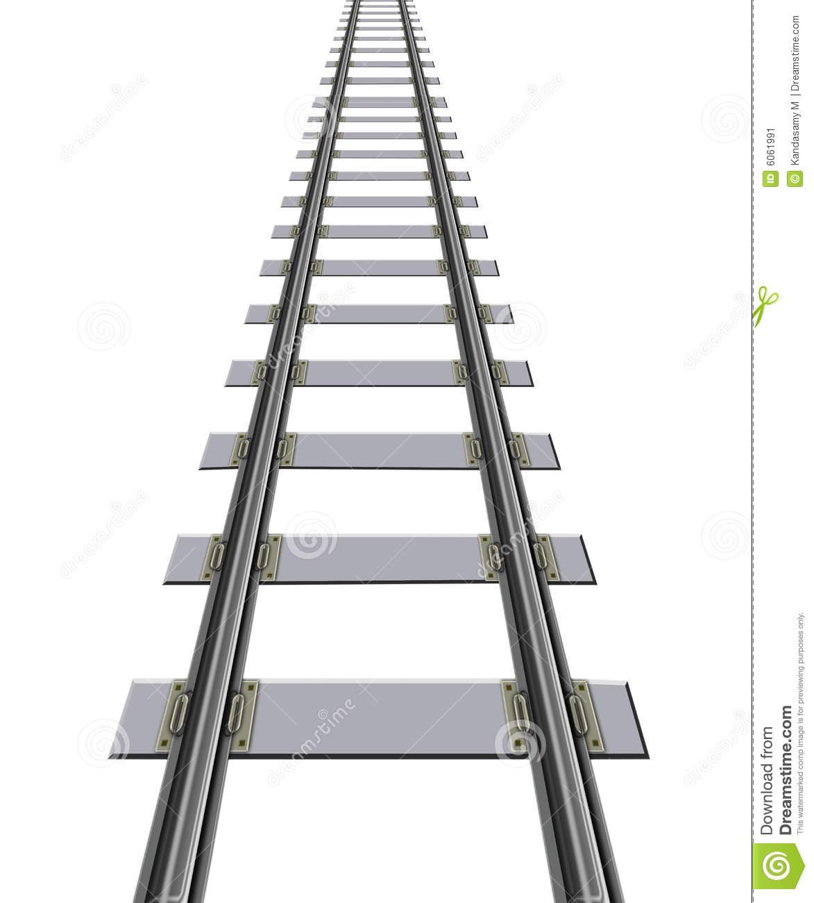 Train Track Clipart