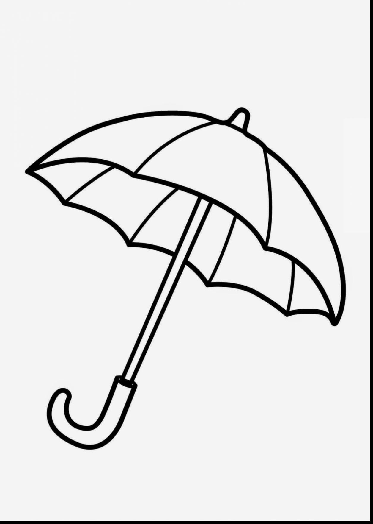 Umbrella Clipart Black And White