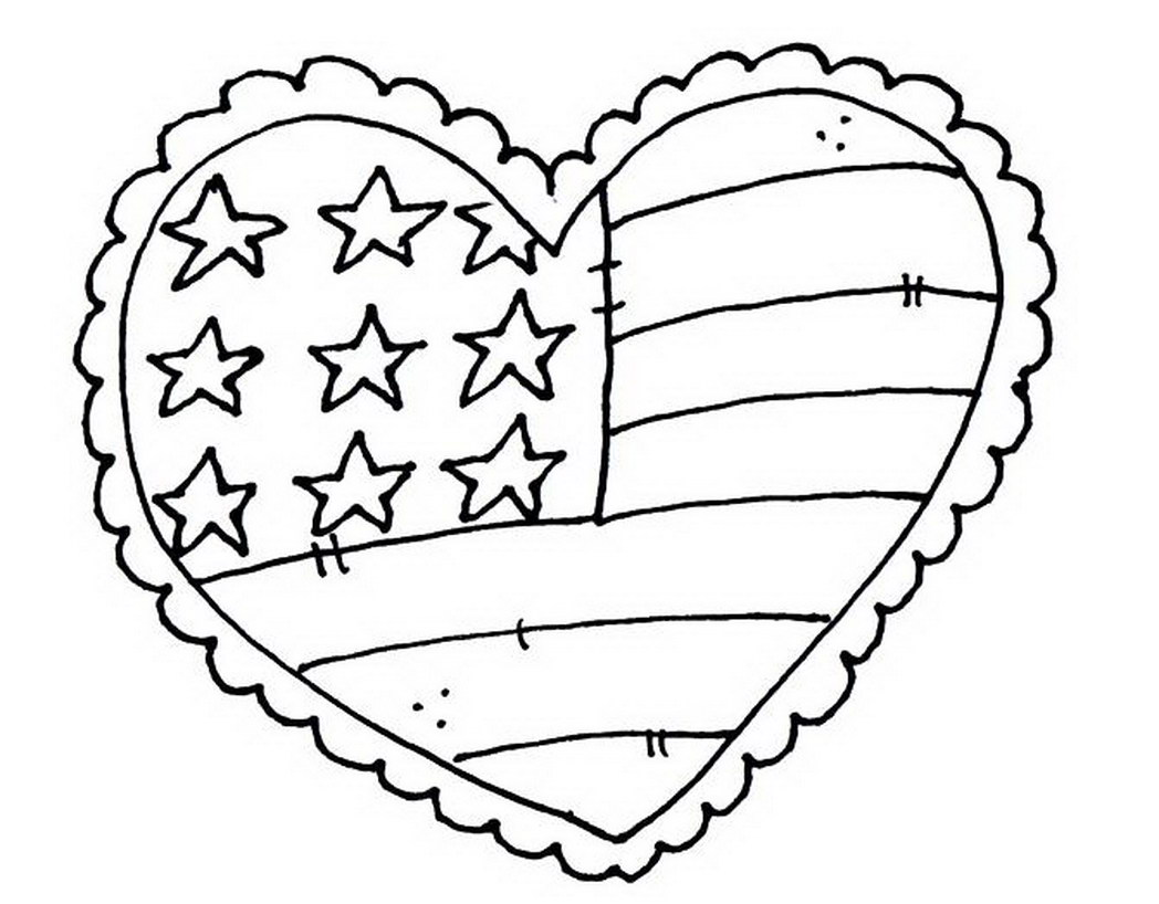United States Coloring Page